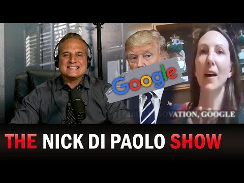 Hidden Cam EXPOSES Google's Secret Anti-Trump 2020 Plans! | The Nick Di Paolo Show