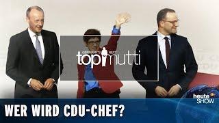 Wer wird CDU-Chef: Spahn, Merz oder AKK?