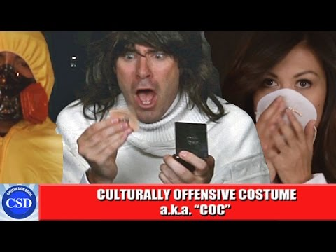 Culturally Offensive Costume (C.O.C.) Outbreak!