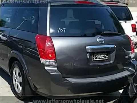 Used Cars Kenner >> 2008 Nissan Quest Used Cars Kenner La