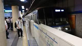 横浜市営地下鉄3000R形3431F 普通あざみ野行き 新横浜駅到着