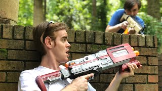 NERF Mod: Fortnite Battle Royale Tactical Shotgun Nerf Gun Mod IN REAL LIFE!