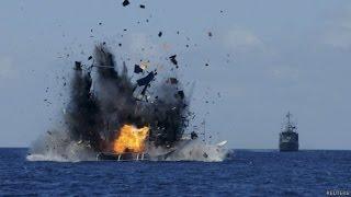 WOW VIDEO Heboh !!! 3.789 Kapal Asing Pencuri Ikan Ditenggelamkan Pemerintah RI