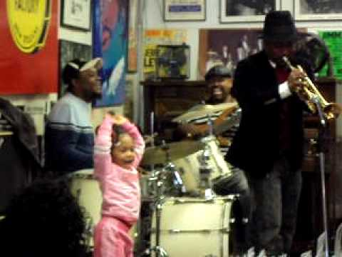 Kermit Ruffins  performs live in New Orleans at LA Music Factory 2009