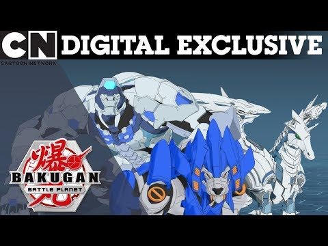 Bakugan: Behind The Battle | Light & Water Bakugans | DIGITAL EXCLUSIVE | Cartoon Network UK