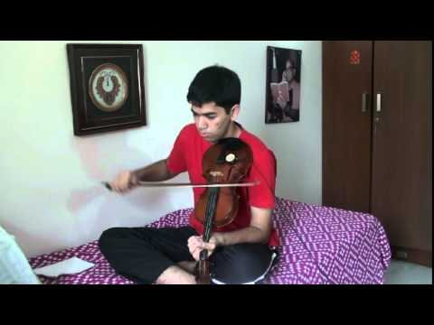 IDDARAMMAYILATHO MOVIE VIOLIN SONG by VINAY KRISHNA
