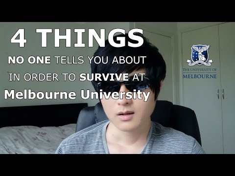 [Survival Guide] 4 Things No One Tells You About In Order To Survive At Melbourne University