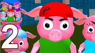 Neighbor Piggy. Obby Family Escape 3D - Gameplay Walkthrough Part 1 (Android,iOS)