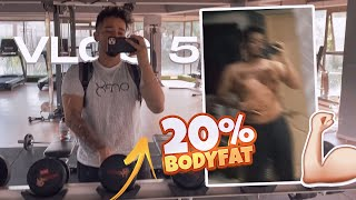V-5 | My Fitness Routine! - AT 20% BODYFAT?! | Life Uncut w Tanmay