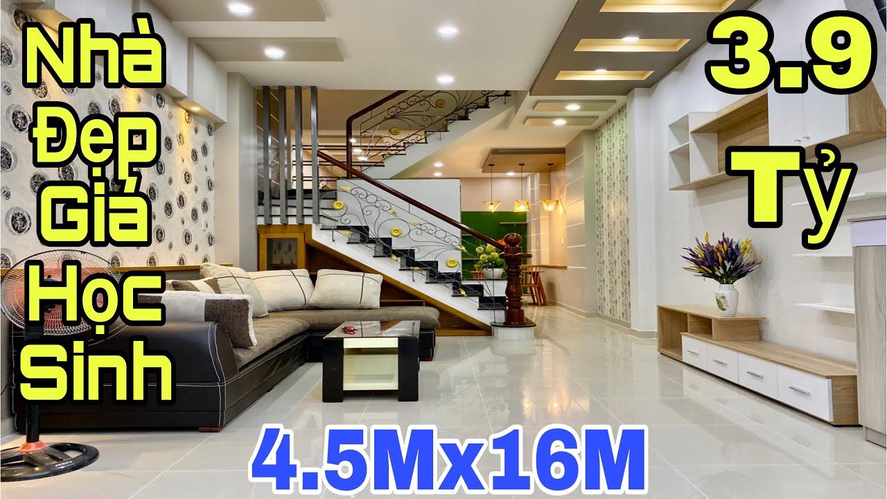 image Bán nhà Quận 12 TPHCM| Nhà đẹp 4.5x16m tặng full nội thất tại đường Hà Huy Giáp| giá rẻ 3.9 tỷ