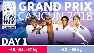 Judo Grand-Prix Cancun 2018: Day 1