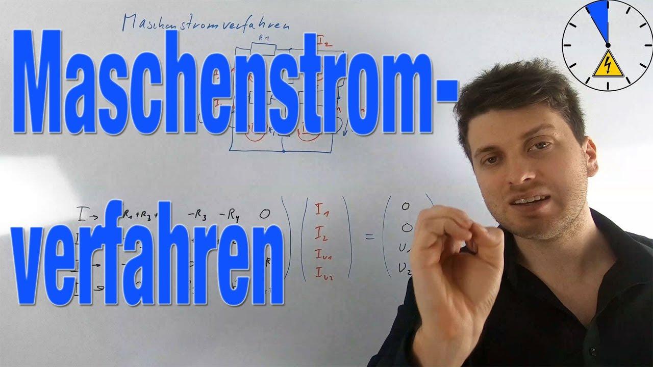 Maschenstromverfahren Matrix aufstellen Erklärung - YouTube