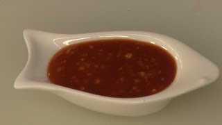 Sweet Chilli Garlic Sauce - By Vahchef @ Vahrehvah.com