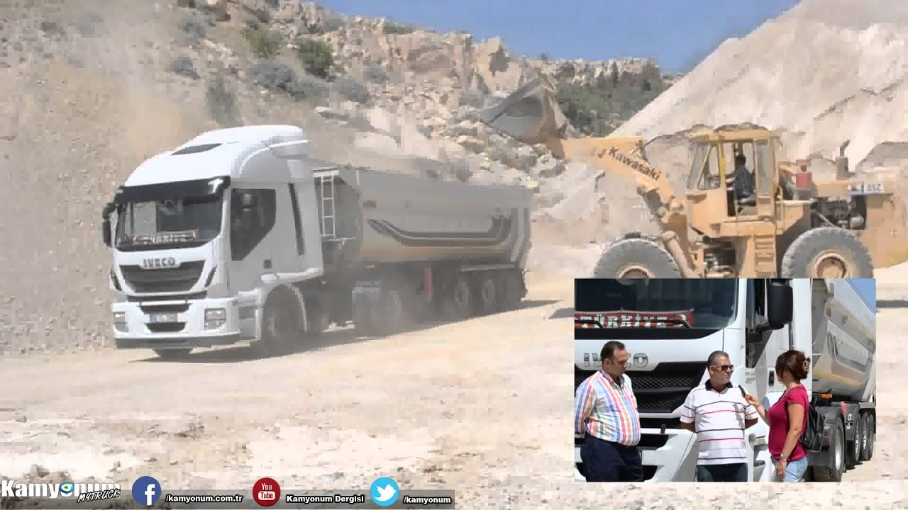 IVECO Stralis 460 Test Sürüşü - YouTube