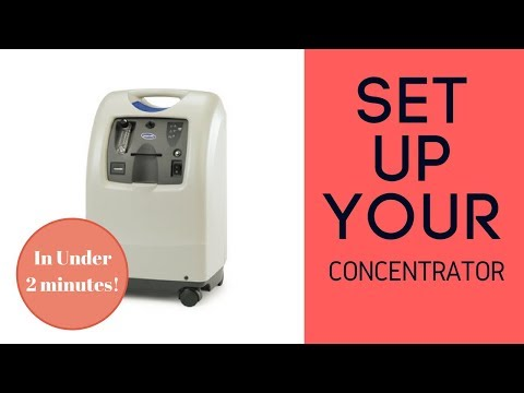How To Set Up Your Oxygen Concentrator