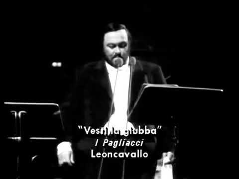 Luciano Pavarotti - Vesti la giuba (1986)
