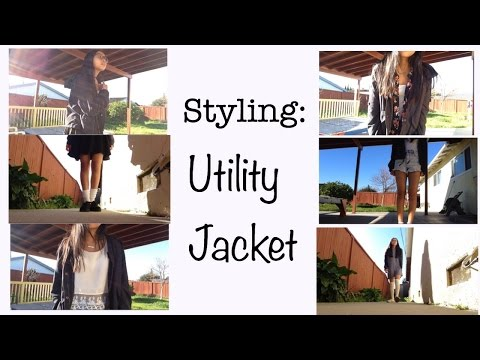 Styling | Utility Jacket (7 outfits)