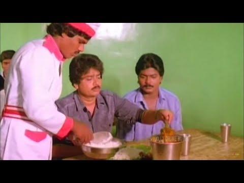 டேய் எனக்கு சாப்பாடு வாங்கித்தரேனு சொல்லிட்டு நீ சப்புற|S.V.Sekar Murali Funny Comedy Scenes