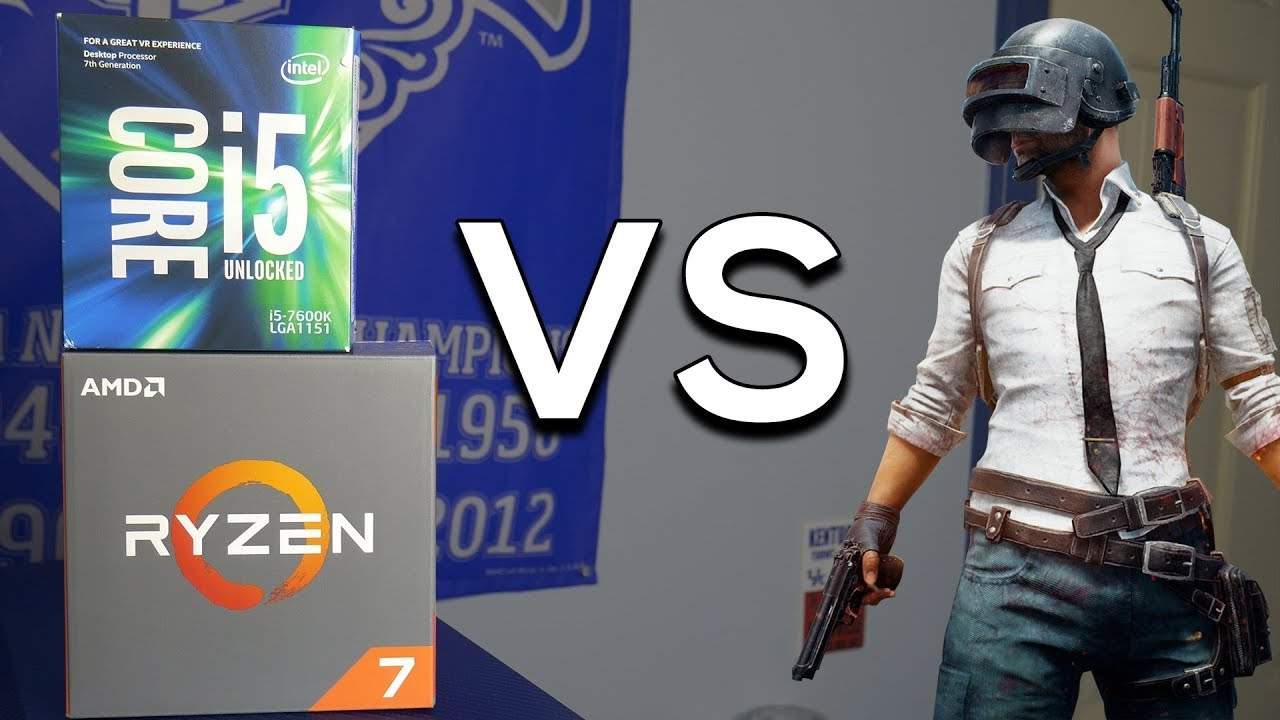 AMD Ryzen vs Intel | Best CPU for PUBG?