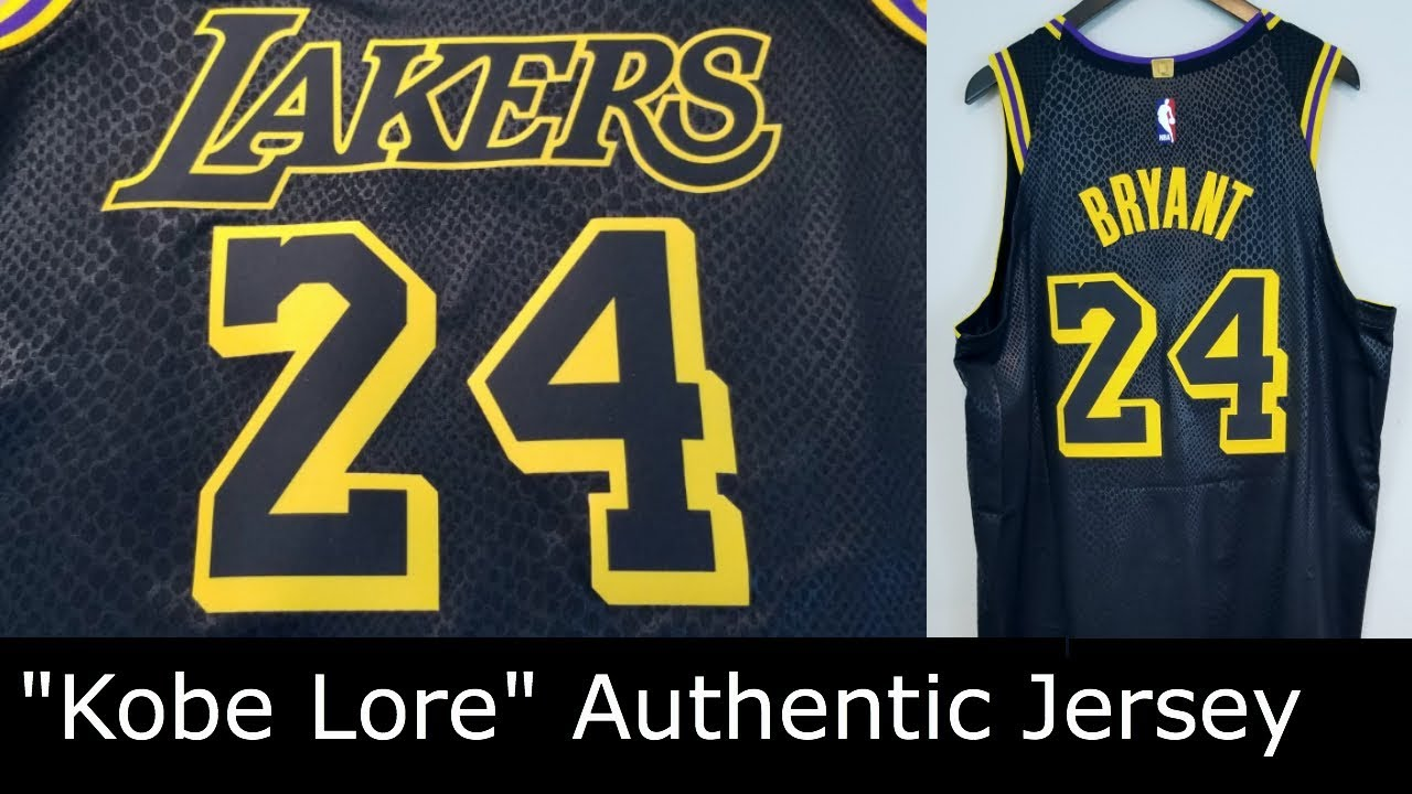 premium selection fb5a9 aa148 Kobe Bryant Nike Authentic Jersey LA Lakers