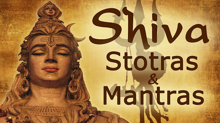 vedic chants  shiva stotras and mantras  shivratri special