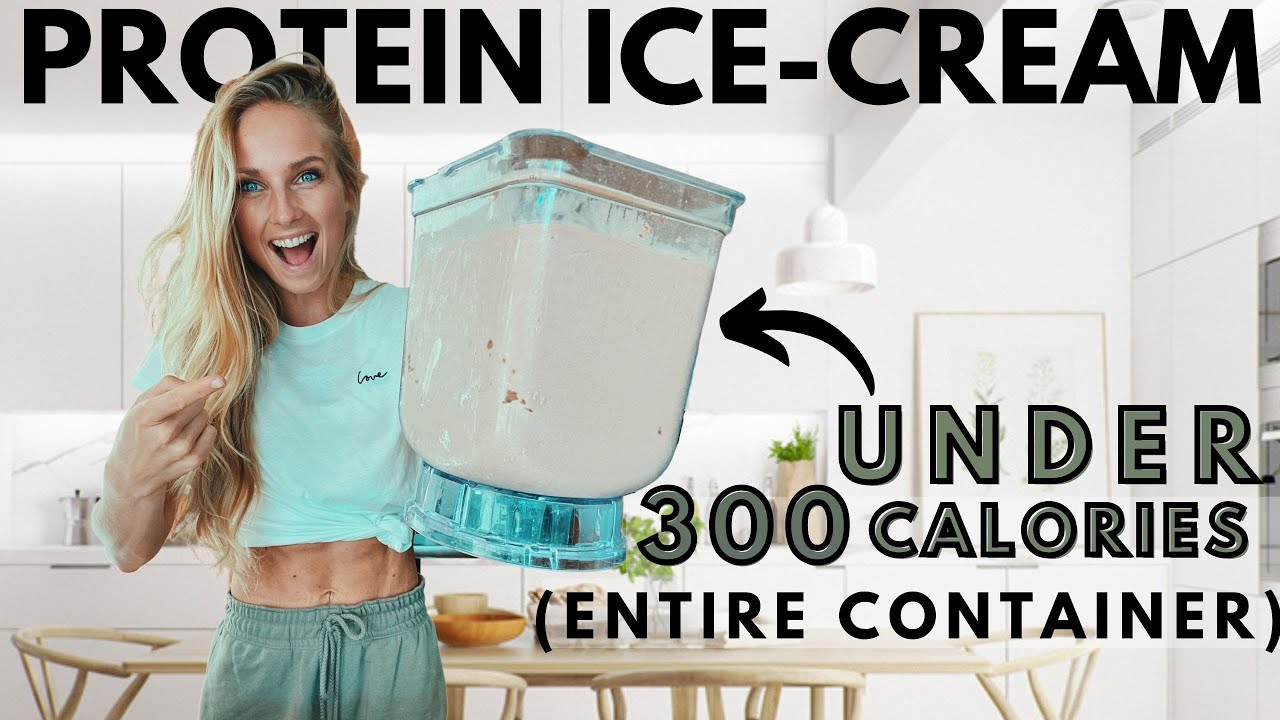 Low Calorie Chocolate Peanut Butter Protein Ice-cream recipe in 5 min! Delicious and easy! Anabolic