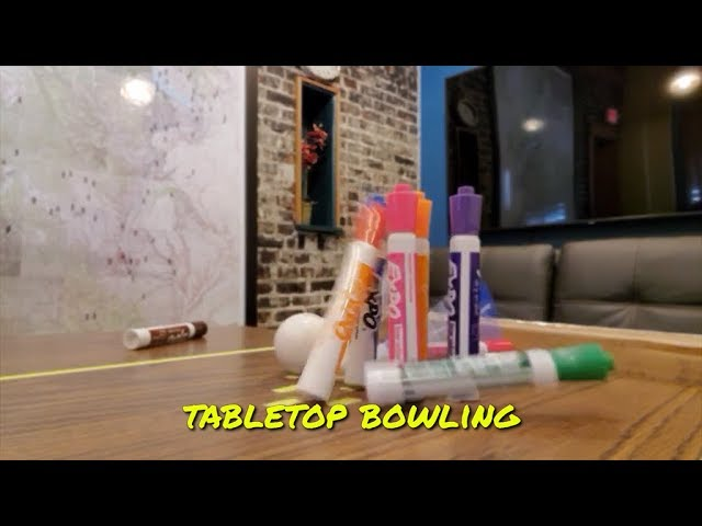 No Sports - Tabletop Bowling 2020-03-19