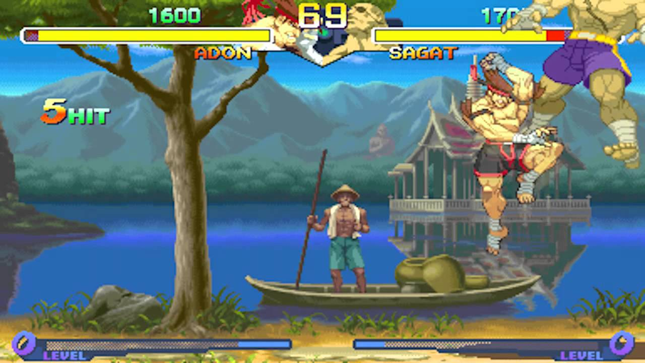 Street Fighter Alpha 2 - Combo Review ~ Chapter 06: Adon ...