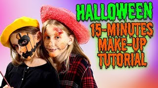 ILIAS WELT - HALLOWEEN - 15 Minutes Make-up Tutorial
