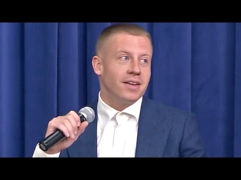 Macklemore Opens Up about Drug Addiction and Recovery