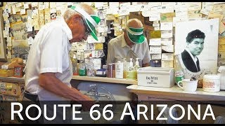 The Route 66 Wet Shave - HairCut Harry experiences an old-time wet shave in Seligman, Arizona.