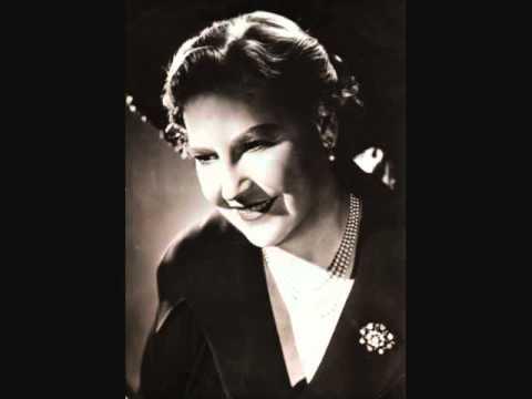 """Kirsten Flagstad """"Schweigt eures Jammers...Starke Scheite..."""" Götterdämmerung 1937"""