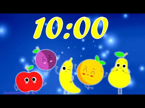 10 Minute Fruit Break Timer for Classroom and Kids with Happy Fruity Music ? ? ? ? ? ?  ? ? ?