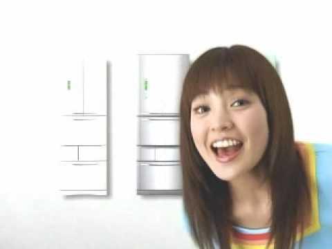 国仲涼子 東芝 CM スチル画像。CM動画を再生できます。