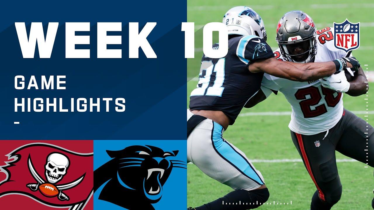 Download Buccaneers vs. Panthers Week 10 Highlights | NFL 2020