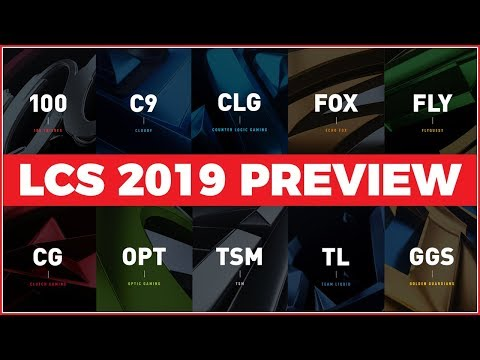 LCS 2019 Teams & Players Preview