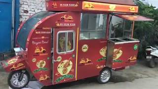 MINI FOOD TRUCKS// ELECTRIC FOOD TRUCK#E- FOOD TRUCK#ELECTRIC FOOD VAN BY SAI STRUCTURES INDIA