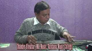 Classical Rhythms of Electric Guitar by Chander Shekhar (MA Music) (720p HD)
