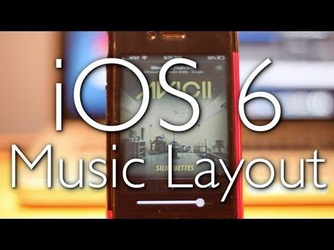 iOS 6: Music App, iTunes, App Store New Look