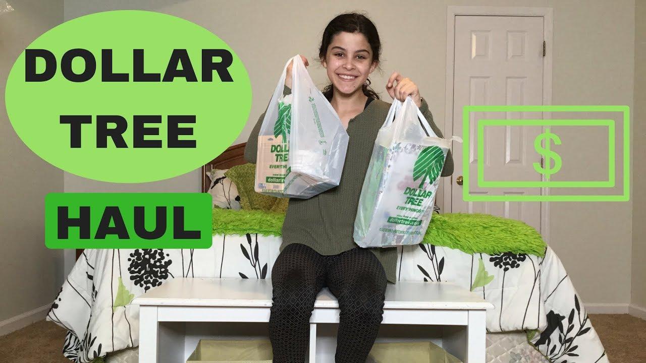 Best Dollar Tree Haul!! - LaciDQ - YouTube