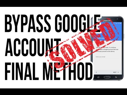 2016 - June ODIN METHOD BYPASS, DELETE, REMOVE GOOGLE ACCOUNT (ALL SAMSUNG)