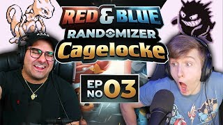 EGG HIM ON! | Pokemon Red and Blue Randomized Cagelocke Ep 03
