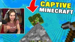 HELP! I'm stuck in the smallest Minecraft world!