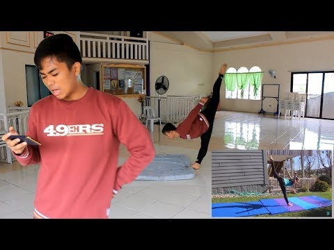 I Tried Following TheCheernastics2 Front Aerial Tutorial
