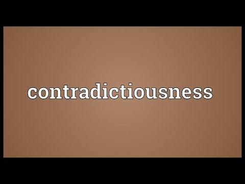 Header of contradictiousness