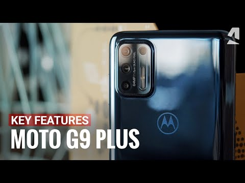 Moto G9 Plus hands-on and top features