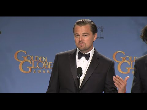 Leonardo DiCaprio Pays Homage To What's Eating Gilbert Grape at the Golden Globes