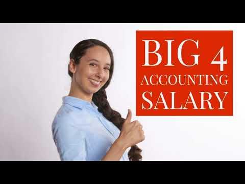 💵 Big 4 Accounting Firms Salary 2018 💵