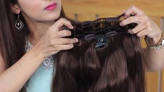 How to Use Hair Extensions - Partial Wig
