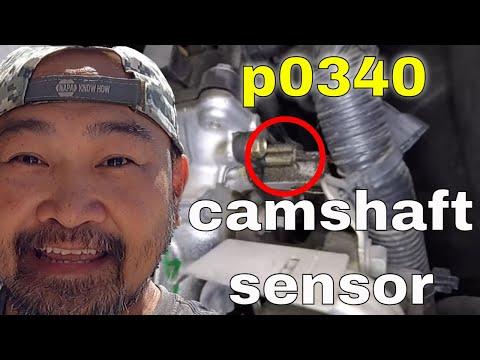 EASY NOT!! P0340 camshaft sensor replacement Nissan Xterra 4 0L √ Fix it  Angel